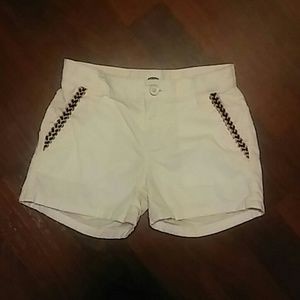 Old Navy Girl's Shorts with Braided Trim